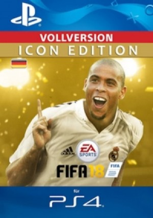 FIFA 18 ICON Edition - PS4 Code