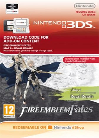 Fire Emblem Fates: Map 6 Royal Royale DLC