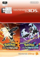 Pokemon Ultra Sun and Ultra Moon - Digital Ultra Dual Edition - eShop Code Bundle