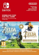 The Legend of Zelda: Breath of the Wild and Expansion Pass - eShop Code Bundle