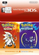 Pokemon Sun and Moon - eShop Code Bundle