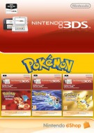 Pokemon Blue Red and Yellow Classic Pack - eShop Code Bundle