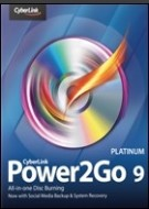 Power2Go 9.0 Upgrade to Platinum