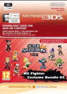 Super Smash Bros. for 3DS - Pacchetto elementi Guerrieri Mii 2 - eShop Code