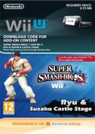 Super Smash Bros. for Wii U - Ryu + scenario Suzaku Castle - eShop Code
