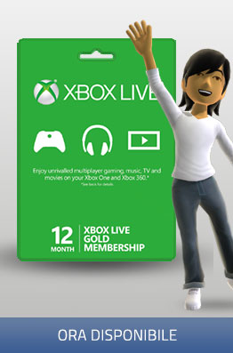 Xbox Live 12 Months